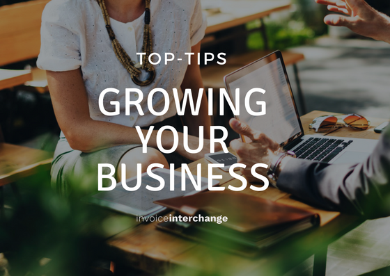 grow your small business, invoiceinterchange